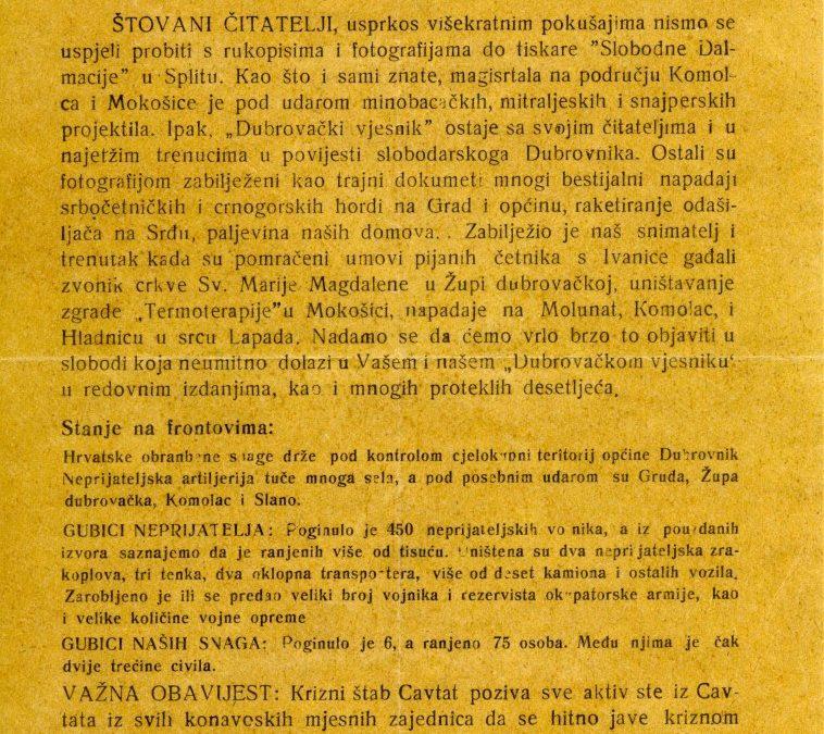 Tiskovina • MDRD D 2958
