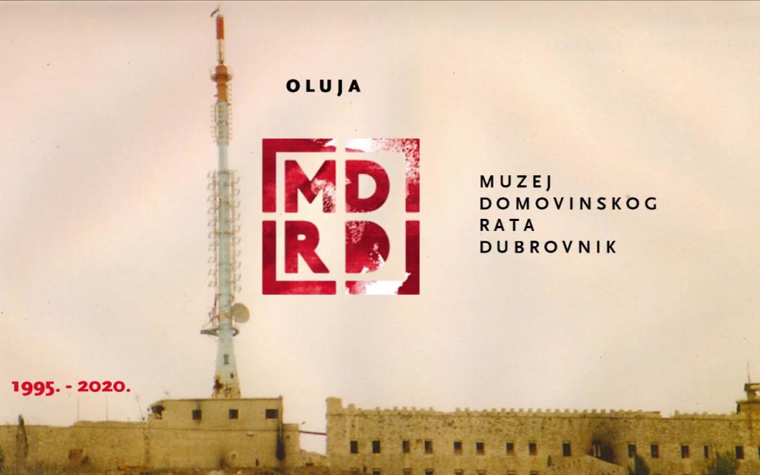 """Izložba Muzeja Domovinskog rata Dubrovnik """"Oluja 1995. -2020."""""""