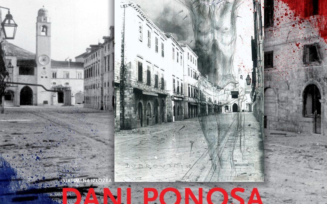 """Virtualna izložba """"Dani ponosa 1991. – 1995."""""""