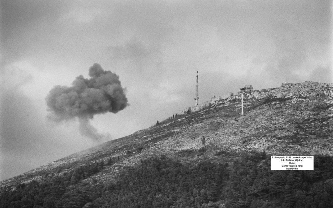 Opći agresorski vojni napad na dubrovačko područje 1. listopada 1991.